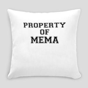Property of MEMA Everyday Pillow