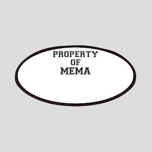 Property of MEMA Patch