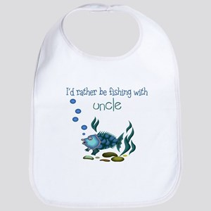 Rather be Fishing with Uncle Baby Bib