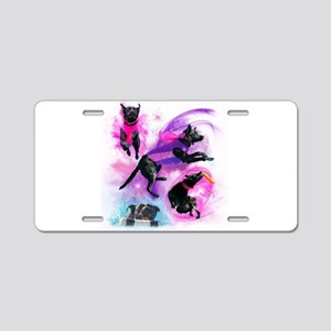 Lilly collage Aluminum License Plate