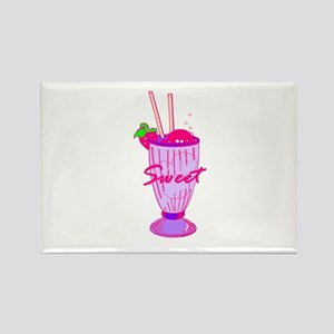 Ice Cream Soda Rectangle Magnet