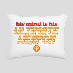 Ultimate Weapon Rectangular Canvas Pillow