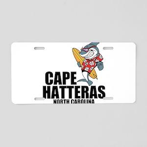 Cape Hatteras, North Carolina Aluminum License Pla