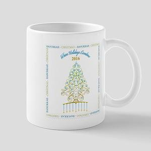 When Holidays Combine Tree Mugs