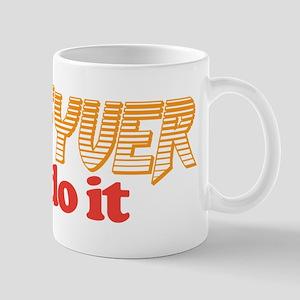 Macgyver can do it Mug