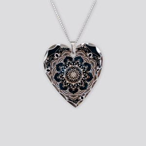 Glowing Spirit Necklace Heart Charm