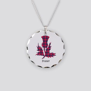 Thistle - Fraser Necklace Circle Charm