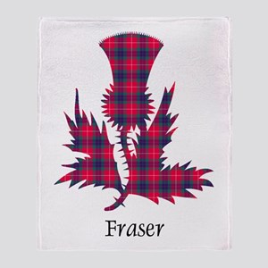 Thistle - Fraser Throw Blanket