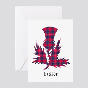 Thistle - Fraser Greeting Card