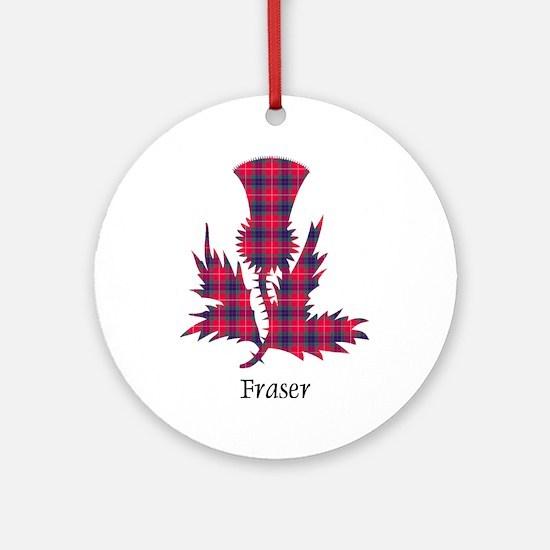 Thistle - Fraser Ornament (Round)