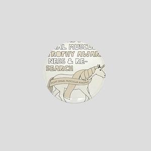 Unicorns Support Spinal Muscular Atrop Mini Button
