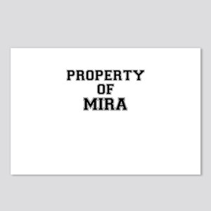 Property of MIRA Postcards (Package of 8)