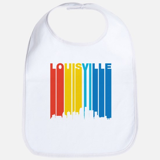 Retro Louisville Skyline Bib