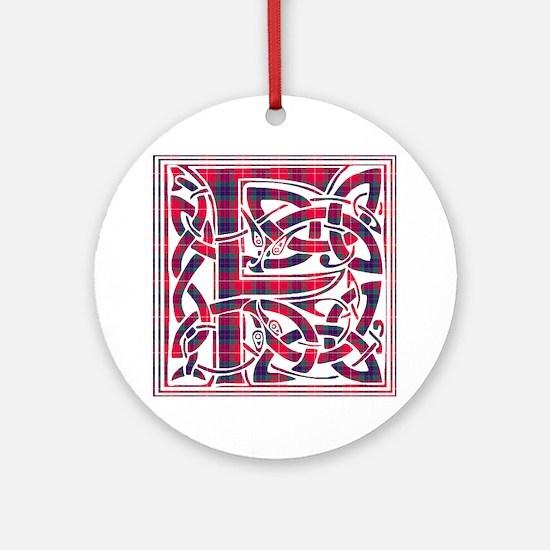 Monogram - Fraser Ornament (Round)