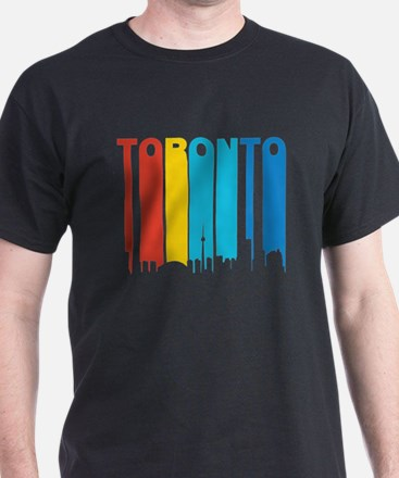 Retro Toronto Skyline T-Shirt