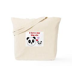 I LOVE MY BIG SIS Tote Bag