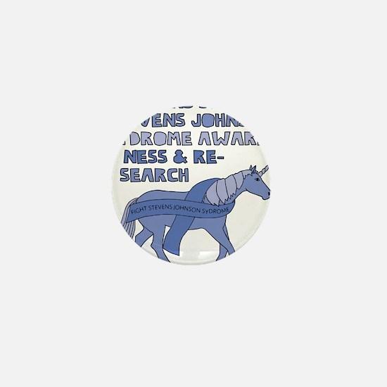 Unicorns Support Stevens Johnson Syndr Mini Button
