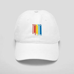 Retro Tokyo Skyline Baseball Cap