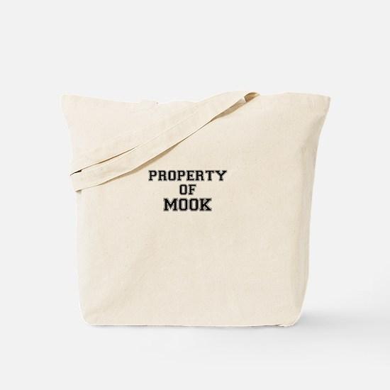 Property of MOOK Tote Bag