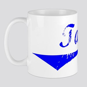 Tate Vintage (Blue) Mug