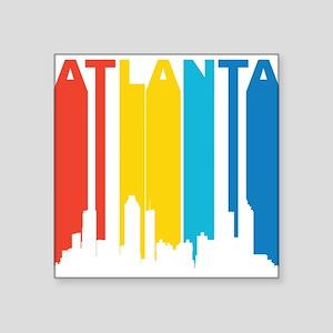 Retro Atlanta Skyline Sticker