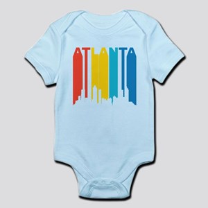 Retro Atlanta Skyline Body Suit