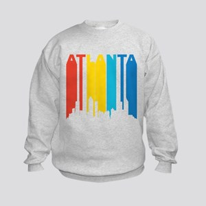 Retro Atlanta Skyline Sweatshirt