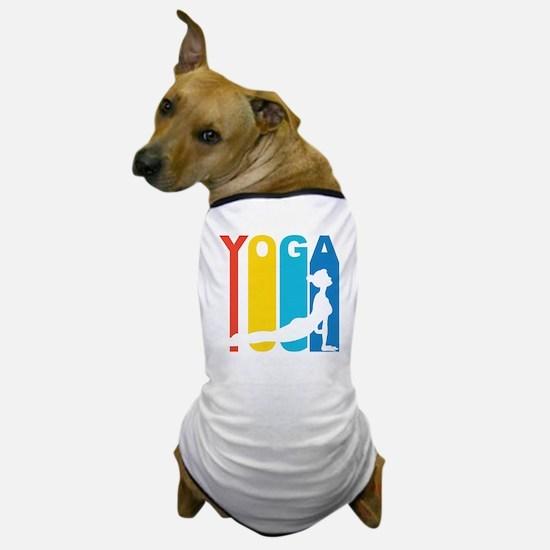 Retro Yoga Dog T-Shirt