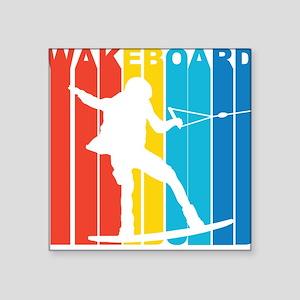 Retro Wakeboard Sticker