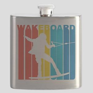 Retro Wakeboard Flask