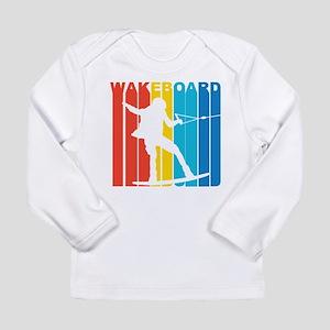 Retro Wakeboard Long Sleeve T-Shirt