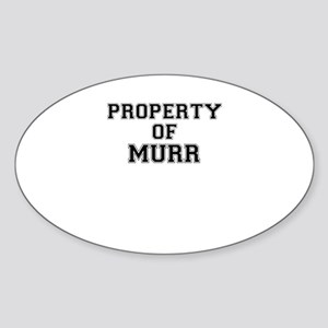 Property of MURR Sticker