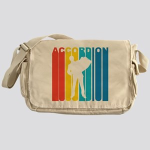 Retro Accordion Messenger Bag
