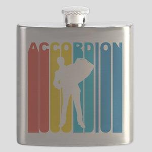 Retro Accordion Flask