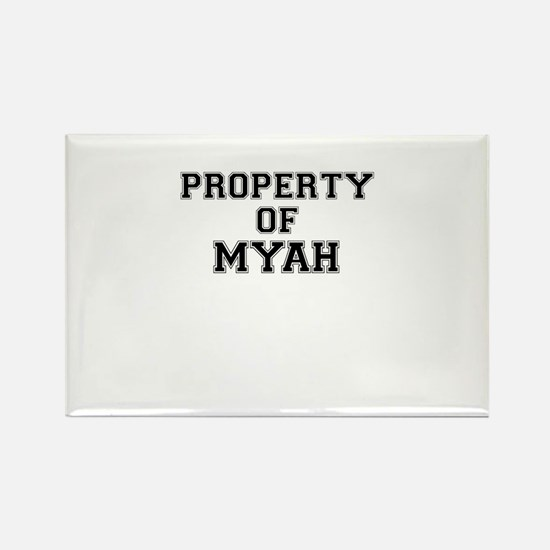 Property of MYAH Magnets