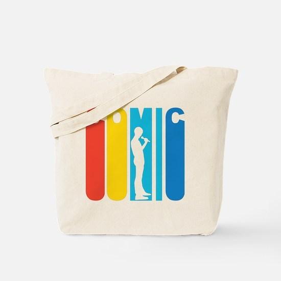 Retro Stand Up Comic Tote Bag