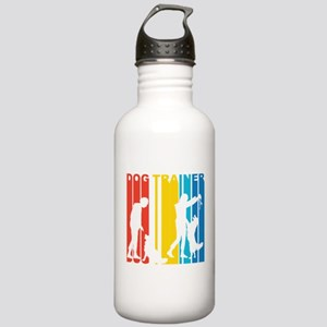 Retro Dog Trainer Water Bottle