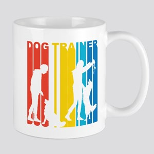 Retro Dog Trainer Mugs