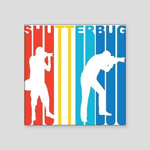 Retro Shutterbug Sticker