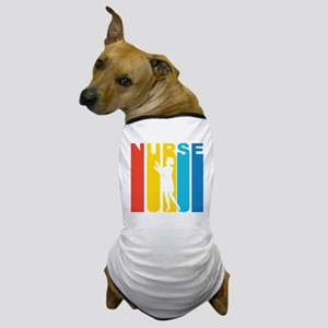 Retro Nurse Dog T-Shirt