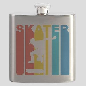 Retro Skater Flask