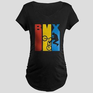 Retro BMX Maternity T-Shirt