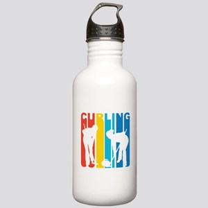 Retro Curling Water Bottle