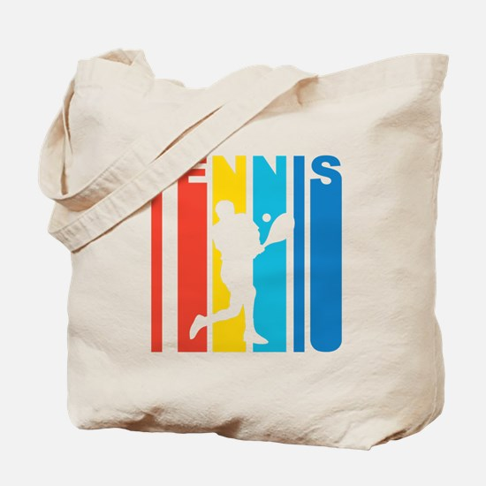 Retro Tennis Tote Bag