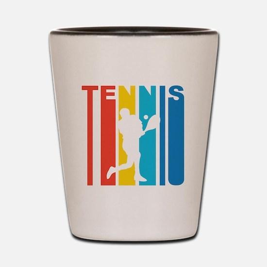 Retro Tennis Shot Glass
