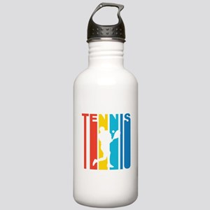 Retro Tennis Water Bottle