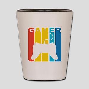 Retro Gamer Shot Glass