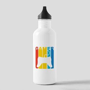 Retro Gamer Water Bottle