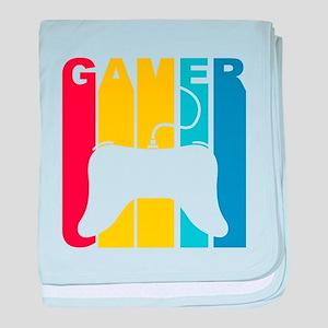 Retro Gamer baby blanket