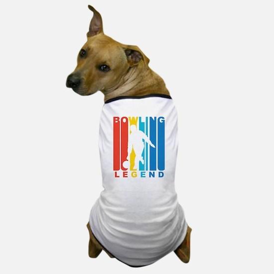 Retro Bowling Legend Dog T-Shirt